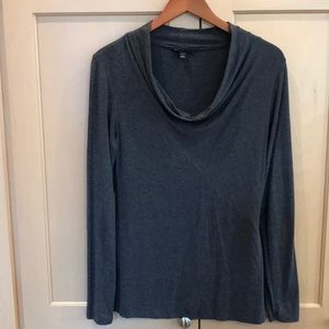 Tops - Gray mock turtleneck. Size Small